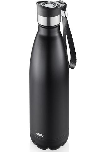 GEFU Thermoflasche »OLIMPIO«, (mit Haltegurt), ideal für kohlensäurehaltige Getränke kaufen