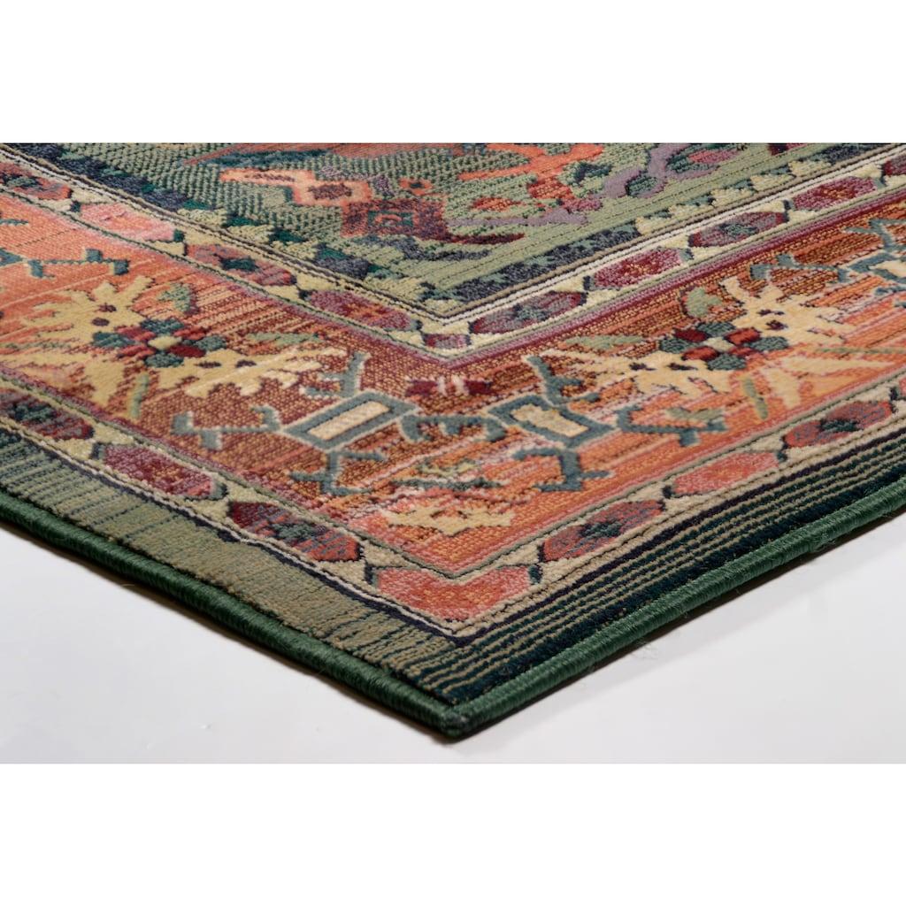 THEKO Teppich »Leonie«, rechteckig, 10 mm Höhe, Orient-Optik, Wohnzimmer