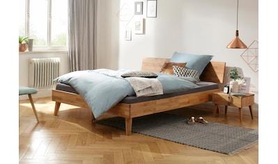Home affaire Bett »Natali«, aus massiver Eiche, in verschiedenen Breiten kaufen