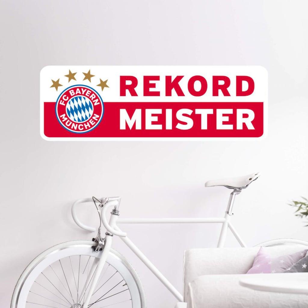 Wall-Art Wandtattoo »Rekordmeister Bayern München«