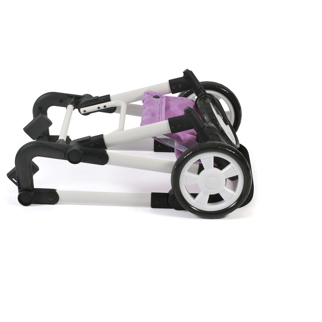 CHIC2000 Kombi-Puppenwagen »Lia, flieder«, mit Puppen-Autositz