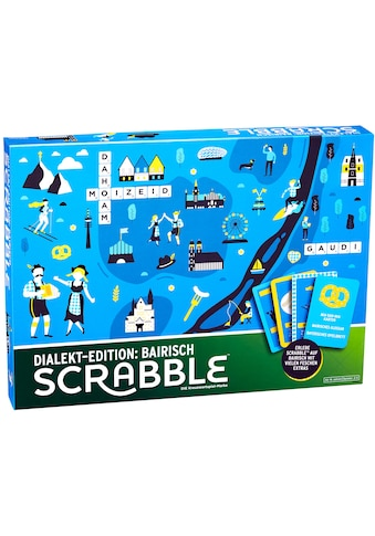 """Mattel® Spiel, """"Scrabble Dialekt - Edition: Bairisch"""" kaufen"""