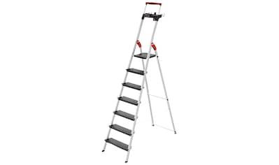 HAILO Stehleiter »L100«, 7 Stufen, max. Arbeitshöhe: 350 cm kaufen