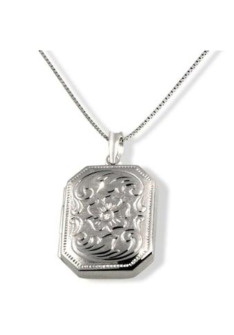 goldmaid Collier Medaillon 375/ -  Weißgold 1 Diamant 0,01 ct. P2/KL kaufen