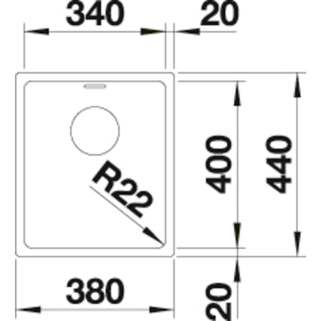 Blanco Küchenspüle »ANDANO 340-U«