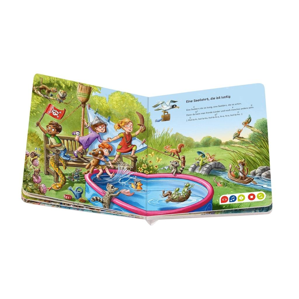 Ravensburger Buch »tiptoi® Meine schönsten Lieder für unterwegs«, Made in Europe