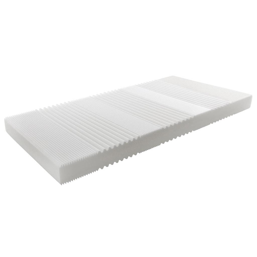 BeCo EXCLUSIV Komfortschaummatratze »Basic KS«, (1 St.), universell und leichtes Handling