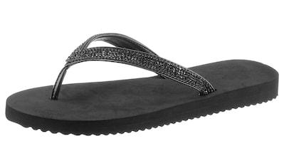 Flip Flop Zehentrenner »Flip*glam«, mit funkelnden Riemchen kaufen