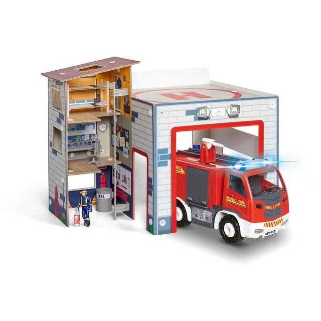 """Revell® Modellbausatz """"Junior Kit, Feuerwehrwache"""""""
