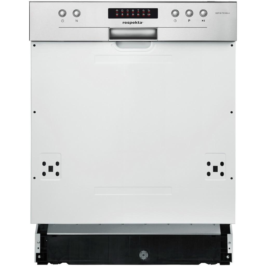 RESPEKTA Küchenzeile, mit E-Geräten, Breite 220 cm