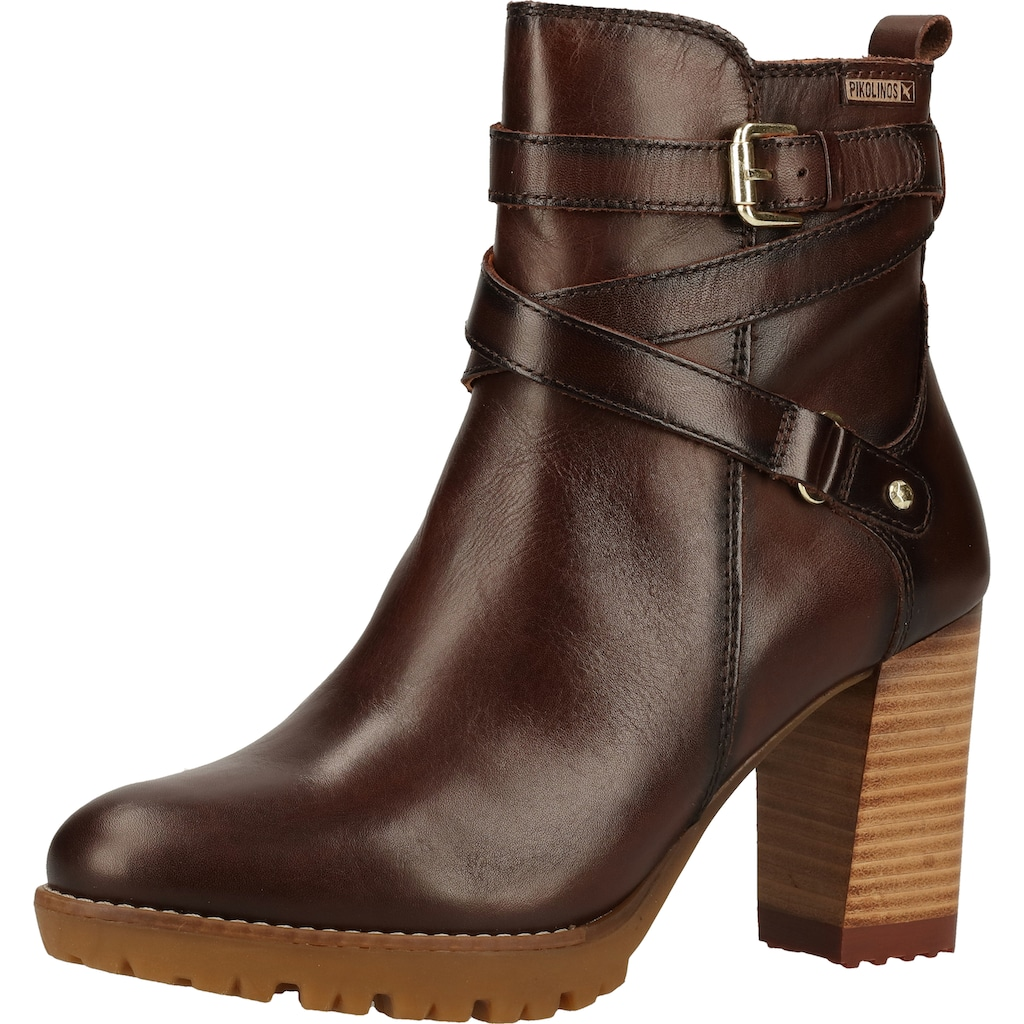PIKOLINOS High-Heel-Stiefelette »Leder«