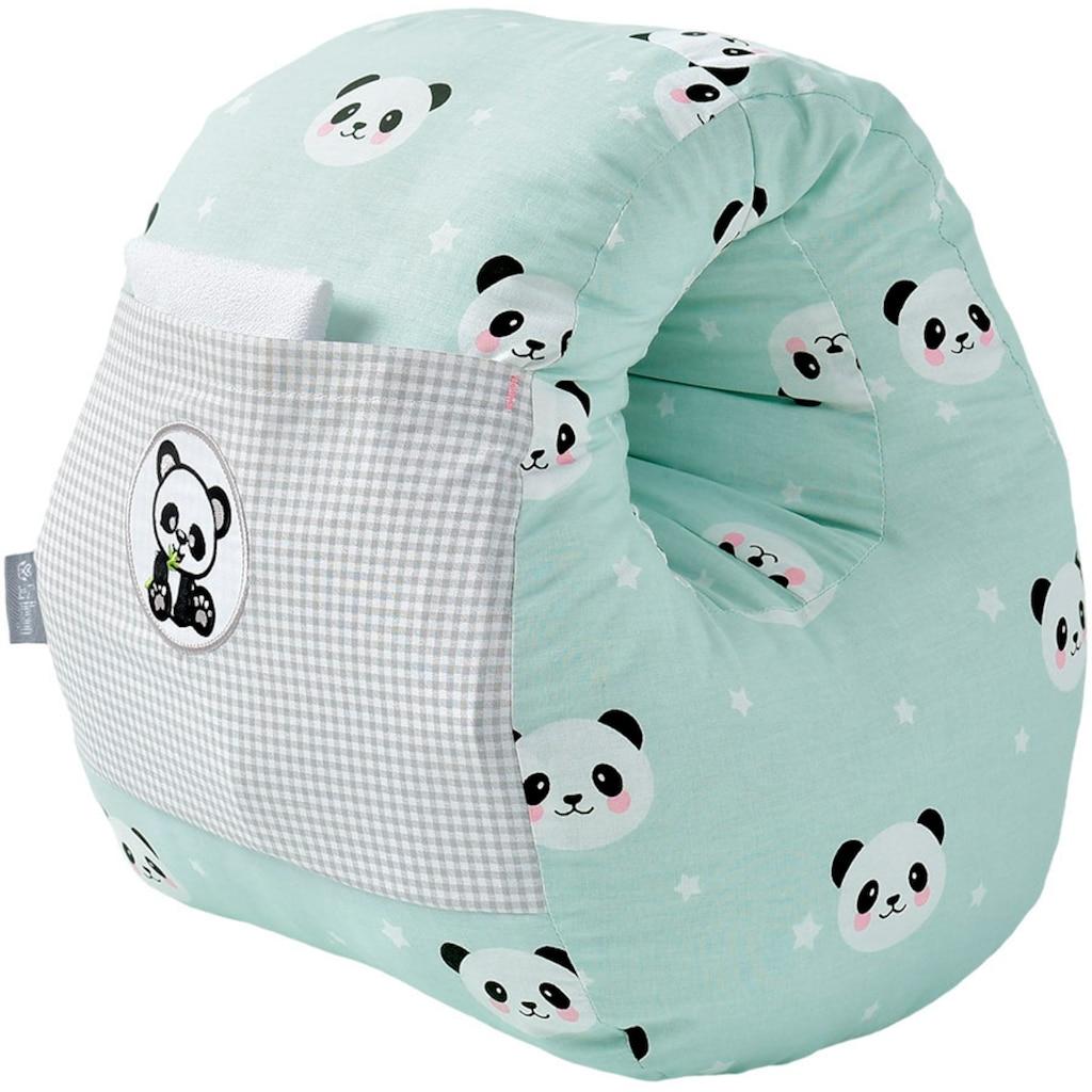 SEI Design Stillkissen »Panda-Mint«
