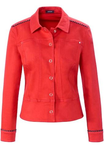 Basler Jeansjacke, aus Coloured Denim kaufen