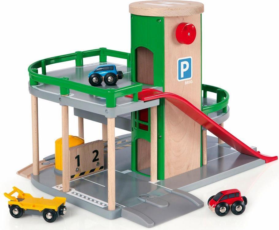 BRIO Spiel-Parkhaus Brio WORLD Parkhaus, Straßen & Schienen bunt Kinder Ab 3-5 Jahren Altersempfehlung Fahrzeug-Spielwelten