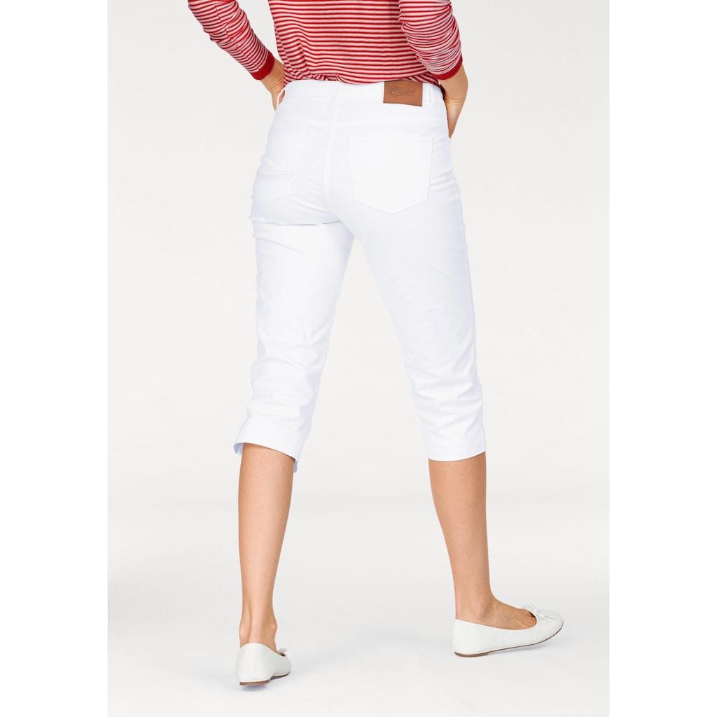 Aniston CASUAL Caprihose, mit vorverlegter Seitennaht