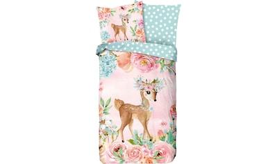 good morning Kinderbettwäsche »Sweet«, mit Bambi kaufen