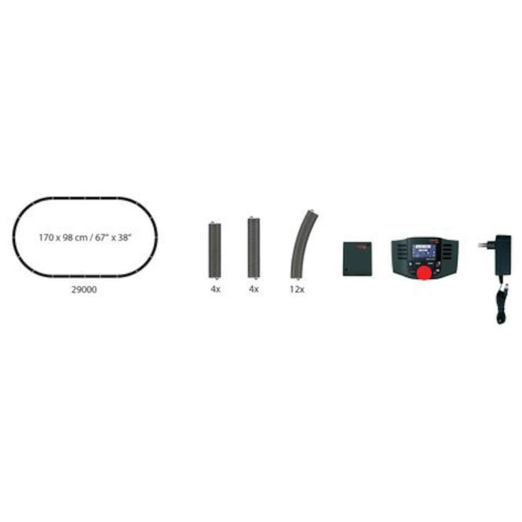 Märklin Gleise-Set »Digitalset MS2, Wechselstrom - 29000«