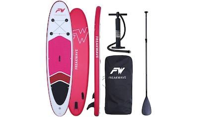FREAKWAVE Inflatable SUP-Board »CORAL«, (4 tlg., mit Paddel, Pumpe und Transportrucksack) kaufen