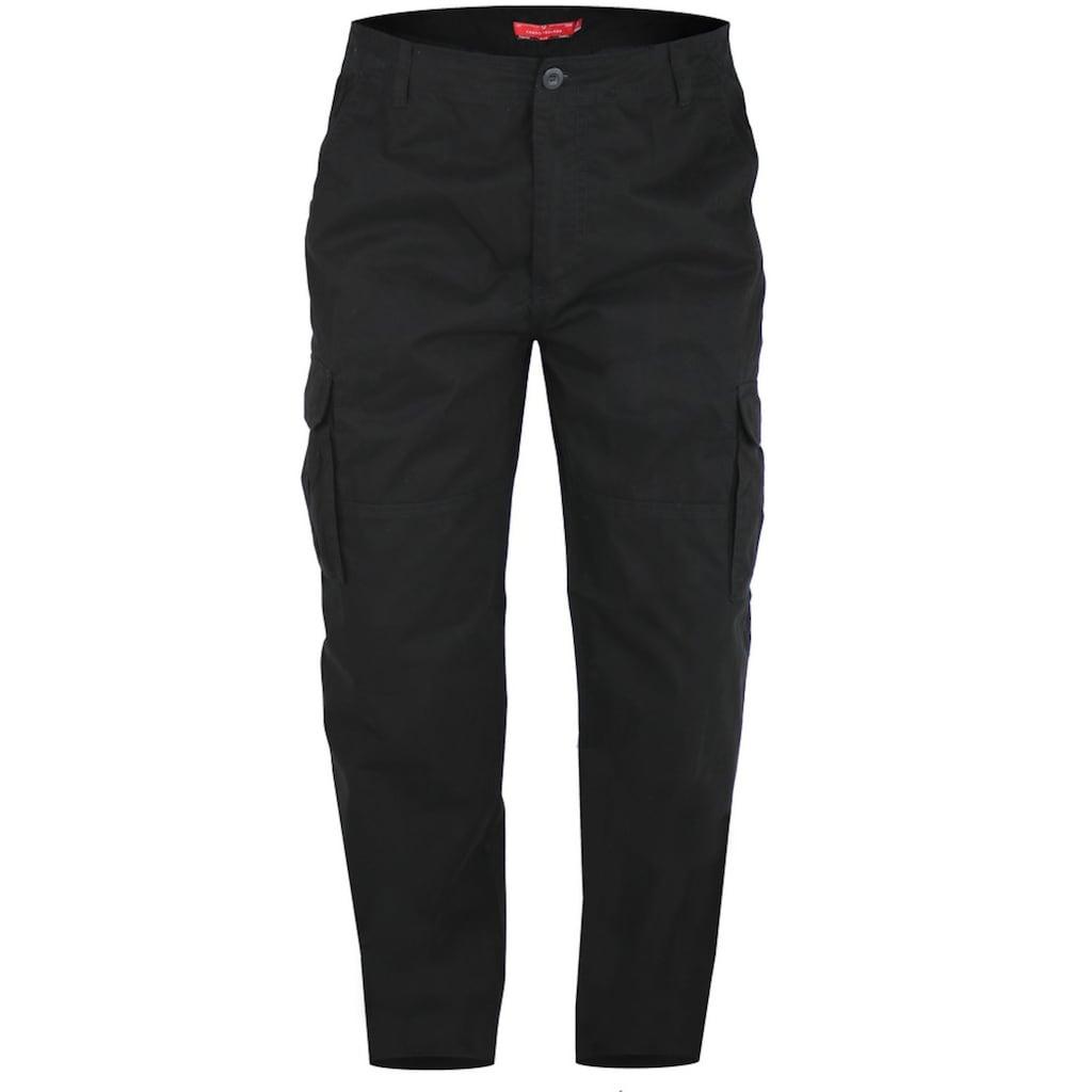 Duke Clothing Cargohose »Herren Cargo-Hose Robert-D555 gepeacht«