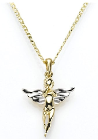 Firetti Kettenanhänger »Engel poliert, rhodiniert, vergoldet« kaufen