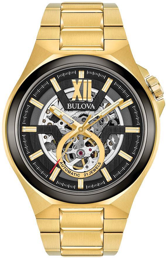 Bulova Automatikuhr 98A178 | Uhren > Automatikuhren | Goldfarben | Bulova