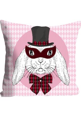 queence Kissenhülle »Bunny Holmes«, (1 St.), mit einem Detektiv Hasen kaufen