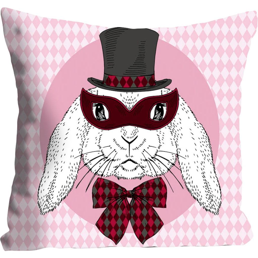 queence Kissenhülle »Bunny Holmes«, (1 St.), mit einem Detektiv Hasen
