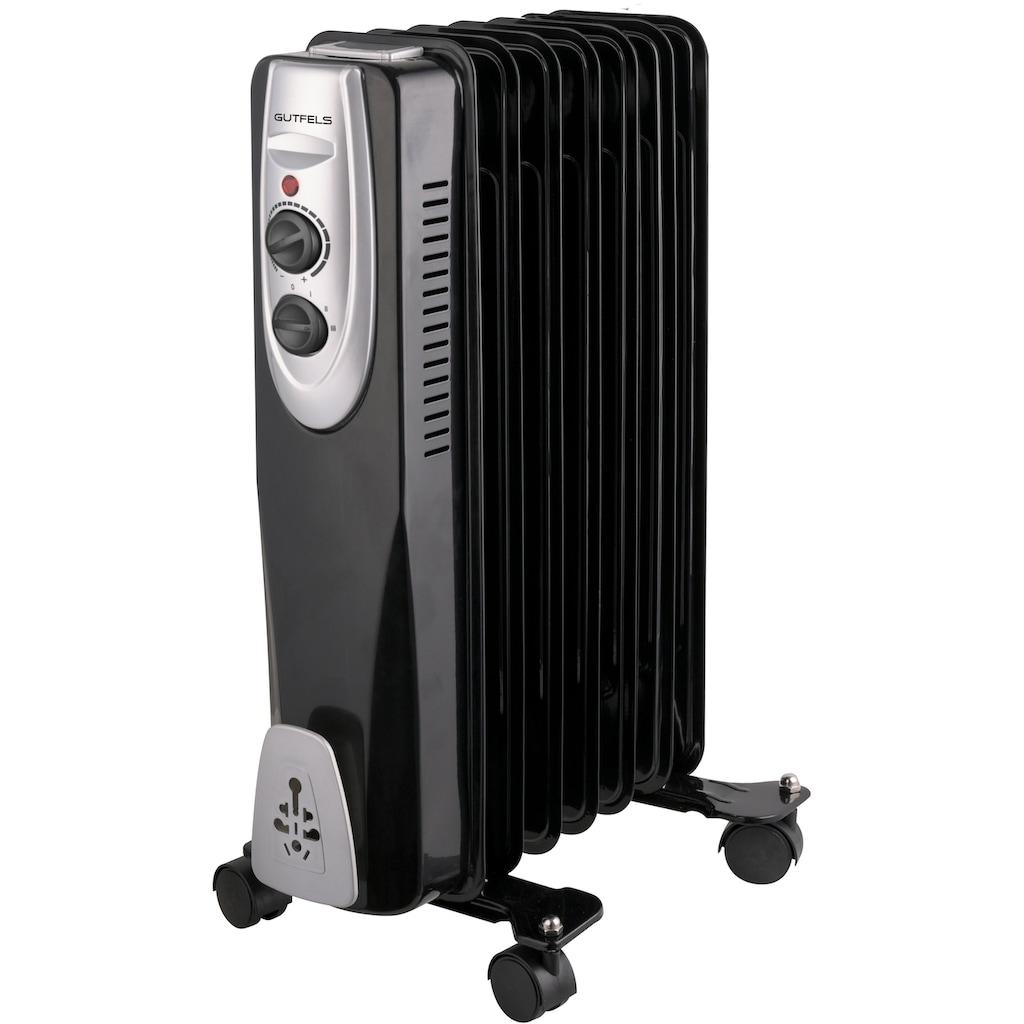 Gutfels Ölradiator »HR 32007 sw«, 1500 W