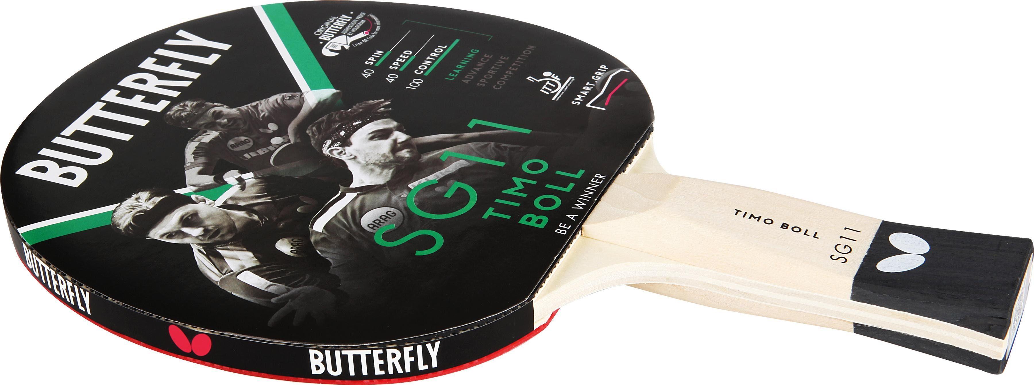Butterfly Tischtennisschläger Timo Boll SG11 Technik & Freizeit/Sport & Freizeit/Sportarten/Tischtennis/Tischtennis-Ausrüstung