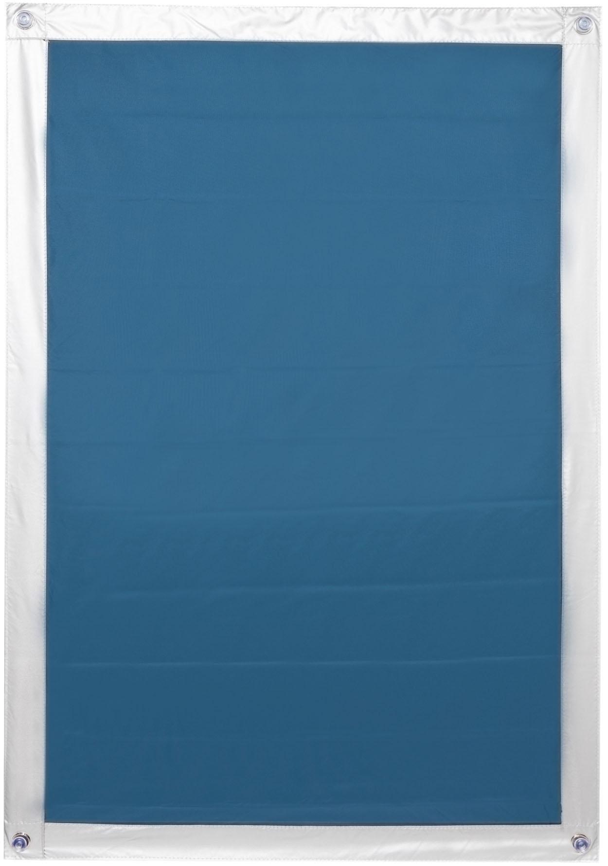 Dachfensterrollo Haftfix Hitzeschutz Verdunkelung LICHTBLICK abdunkelnd ohne Bohren verspannt Wohnen/Wohntextilien/Rollos & Jalousien/Rollos/Dachfensterrollos