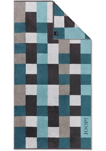 Joop! Badetuch »INFINITY Mosaic«, (1 St.), mit kontrastfarbenen Karos kaufen