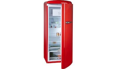 Gorenje Kühlschrank Preisvergleich : Retro kühlschränke rot auf raten kaufen baur