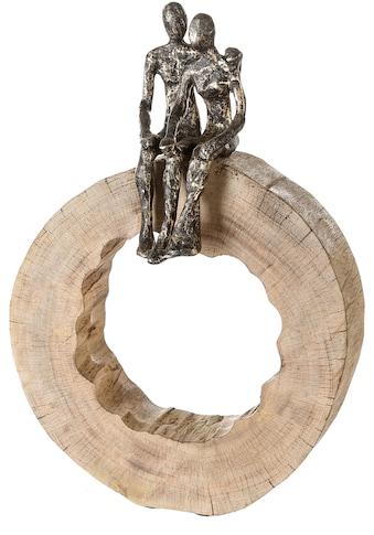 Casablanca by Gilde Dekofigur »Skulptur Together«, Dekoobjekt, Höhe 39 cm, aus Metall... kaufen