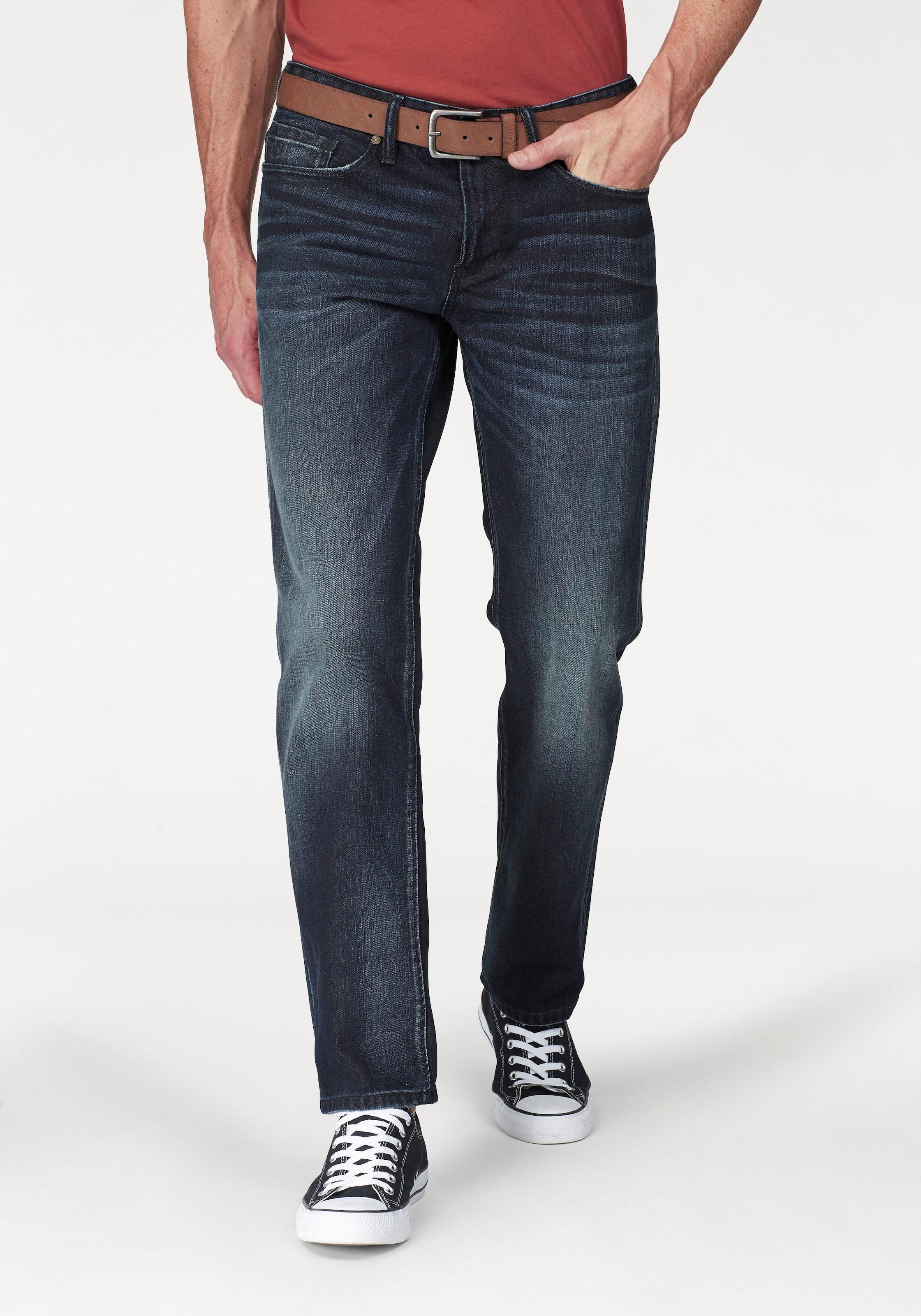 s.Oliver 5 Pocket Jeans (Set, mit Gürtel) Jeans mit Gürtel | BAUR