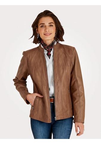 Mona Lederjacke, aus weichem Lamm-Nappaleder kaufen