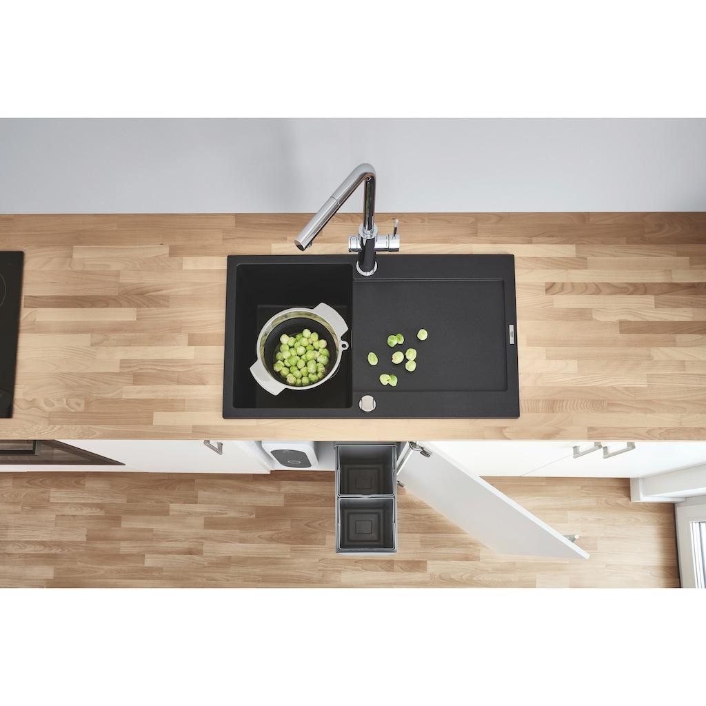 Grohe Küchenarmatur »Blue Home L-Auslauf Starter Kit«, Trinkwasser Still, Medium oder sprudelnd, mit LED Anzeige, App steuerbar