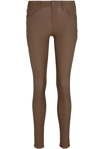 TOM TAILOR Denim Skinny-fit-Jeans, mit edler Beschichtung kaufen