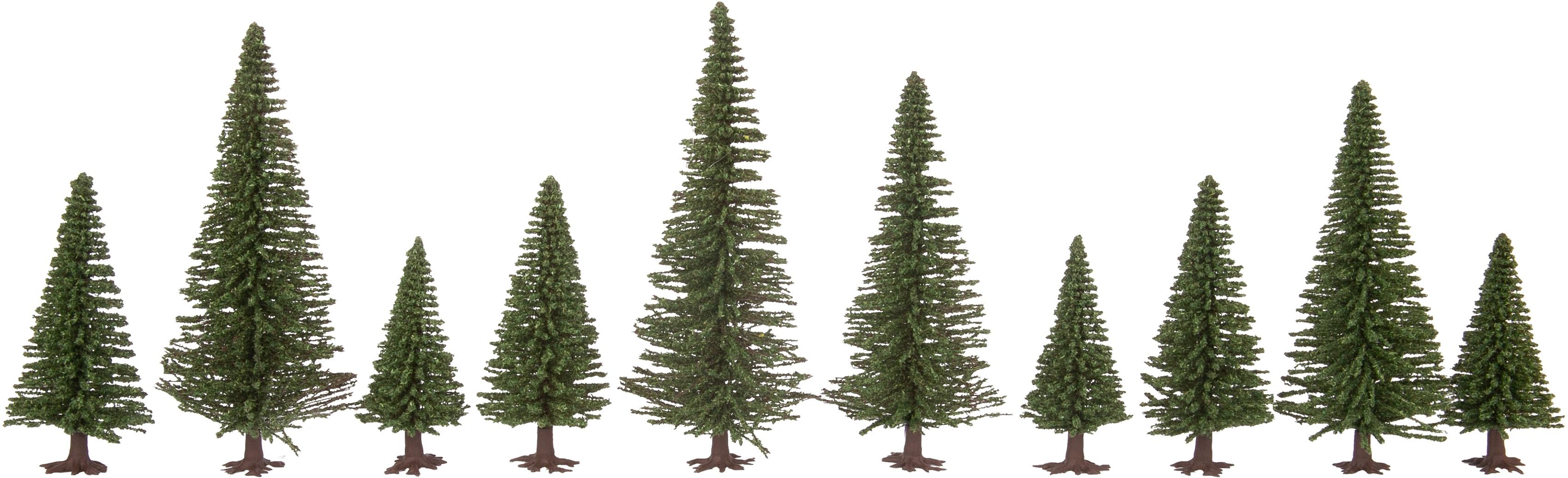 NOCH Modelleisenbahn-Baum Tannen grün Kinder Schienen Zubehör Modelleisenbahnen Autos, Eisenbahn Modellbau