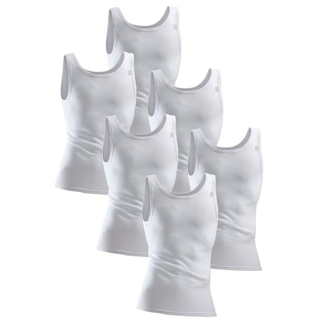 Clipper Exclusive Unterhemd, 6 Stück