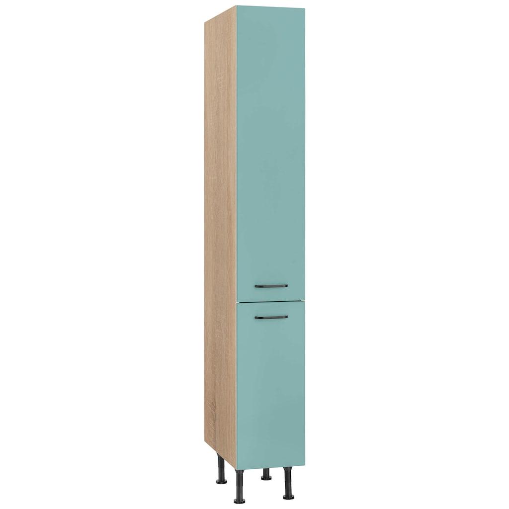 OPTIFIT Apothekerschrank »Elga«, mit Soft-Close-Funktion, Vollauszügen, höhenverstellbaren Füßen und Metallgriffen, Breite 30 cm