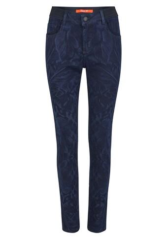 ANGELS Skinny-fit-Jeans, mit dezentem Blumenmuster kaufen
