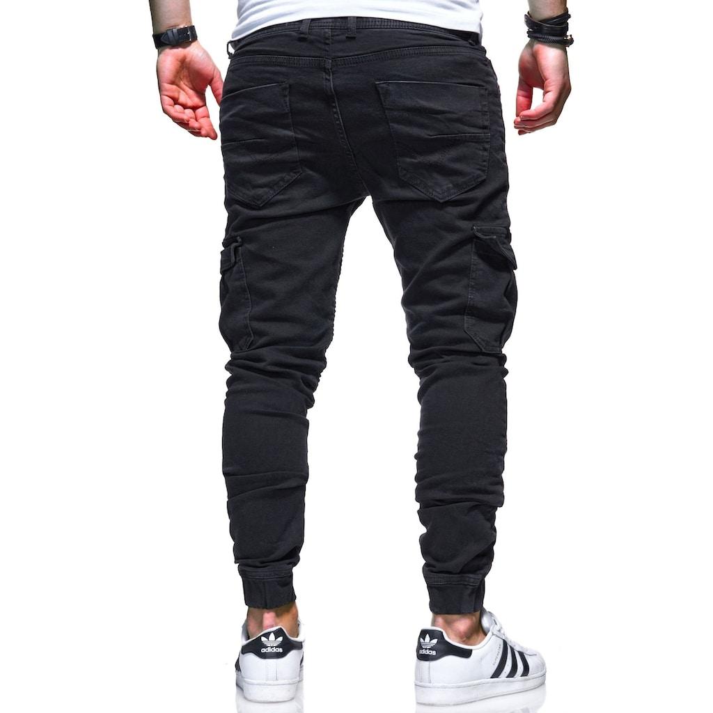 behype Slim-fit-Jeans »BILLY«, mit praktischen Taschen
