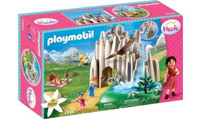 Playmobil® Konstruktions-Spielset »Am Kristallsee mit Heidi, Peter und Clara (70254), Heidi«, ; Made in Germany kaufen
