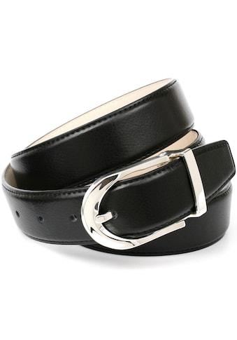 Anthoni Crown Ledergürtel, mit eleganter Dornschließe kaufen