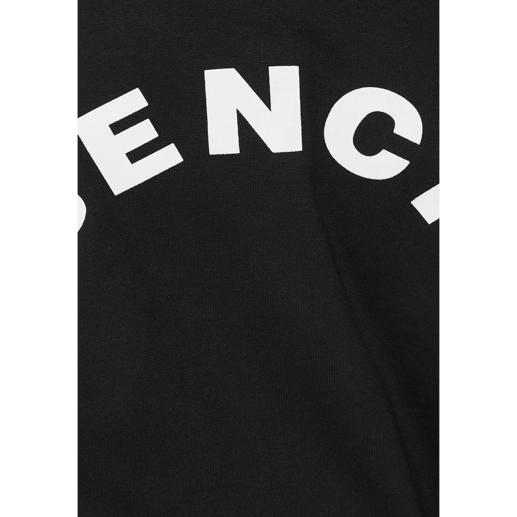 Bench. Kapuzensweatshirt, mit Rückendruck und in extra weiter Form