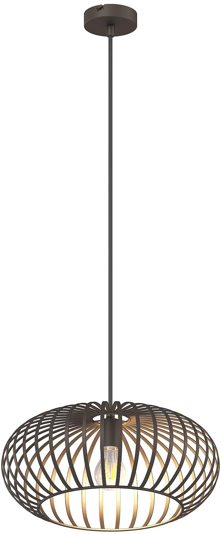 Nino Leuchten LED Pendelleuchte Max, E27, 1 St., Neutralweiß, inkl. 1x E27 Leuchtmittel