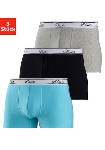 s.Oliver Bodywear Boxer (3 Stück) kaufen