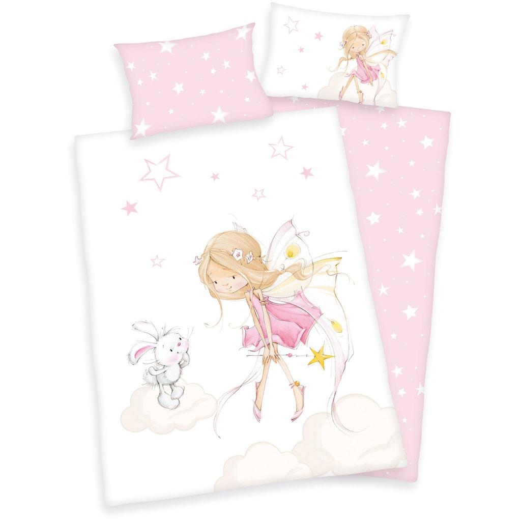 Baby Best Kinderbettwäsche »Little Fairy«, mit niedlichem Feen-Motiv