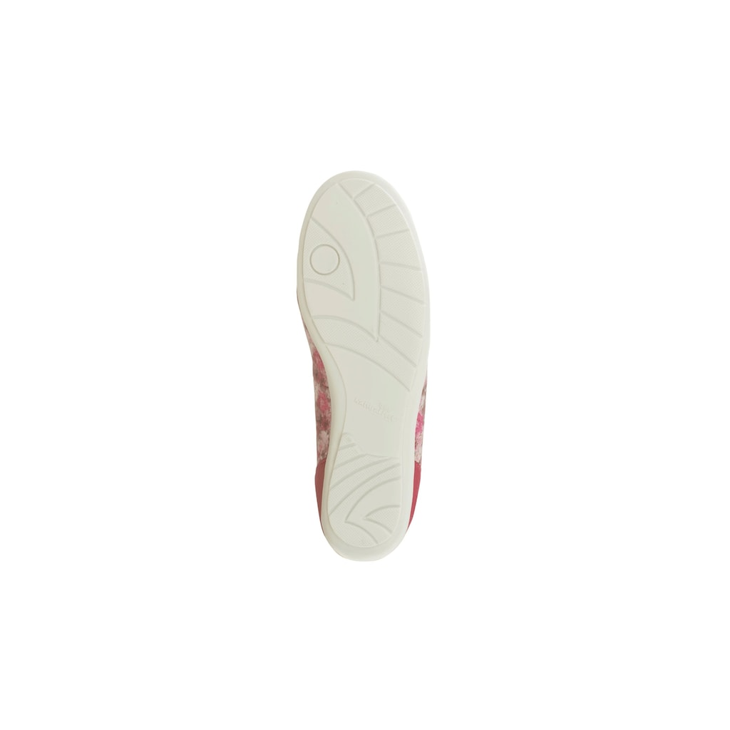 Natural Feet Ballerina »Sanela«, im floralen Design