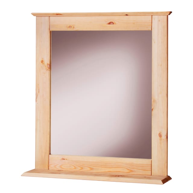 WELLTIME Spiegel »Venezia Landhaus/Sund«, Breite 58 cm, aus Massivholz